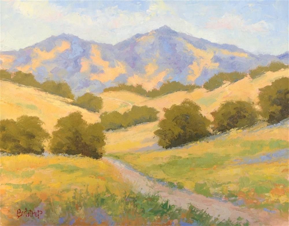 """California Gold"" original fine art by Mark Bidstrup"