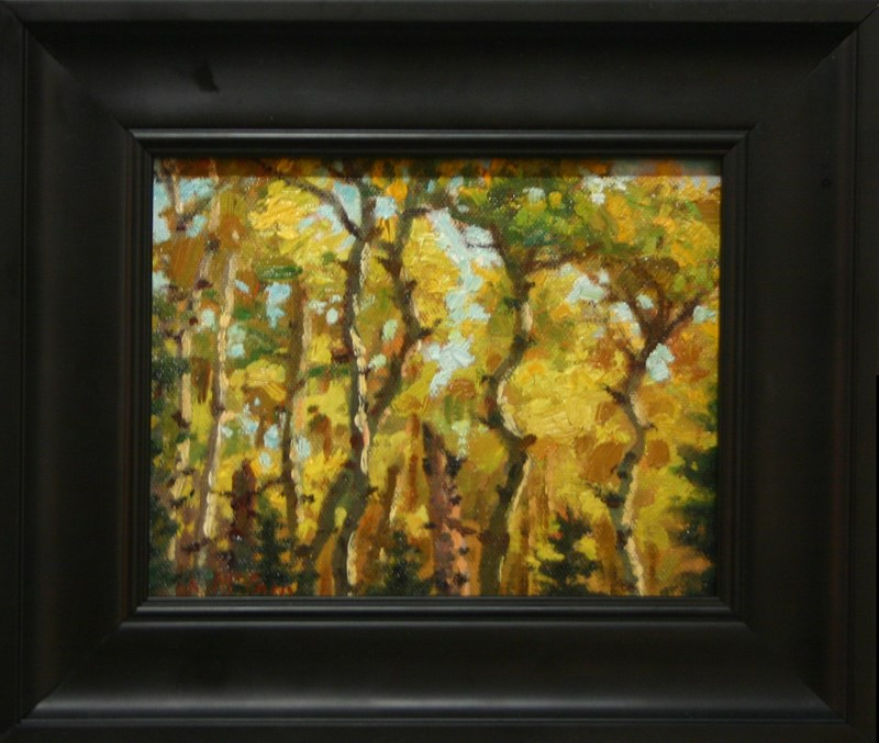 """Dance of Autumn"" original fine art by K.R. McCain"