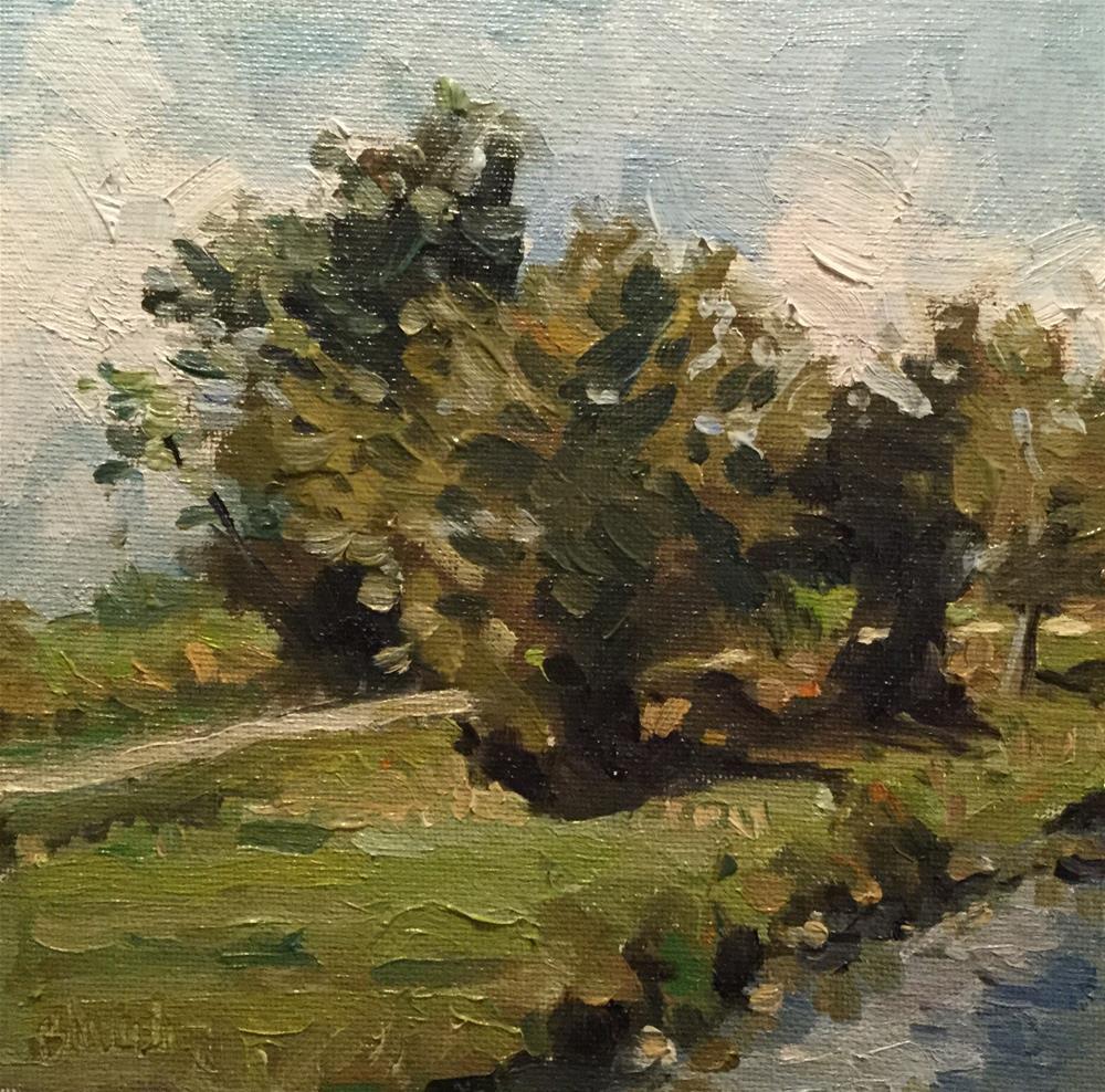 """Little Country"" original fine art by Barb Walker"