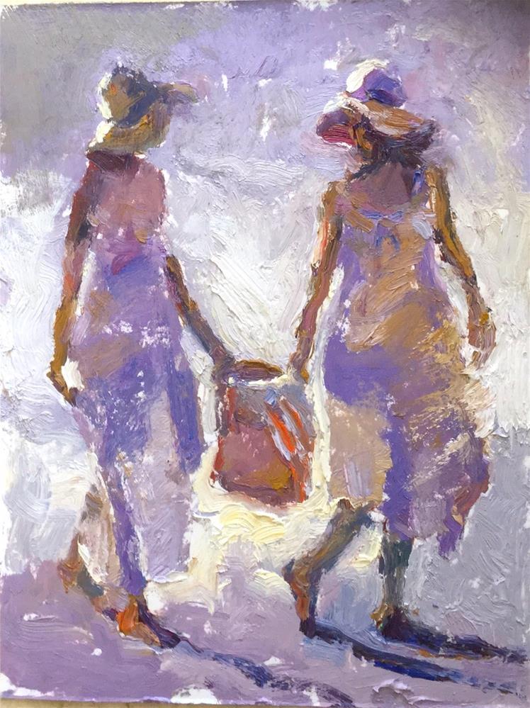 """Light"" original fine art by Marileigh Schulte"
