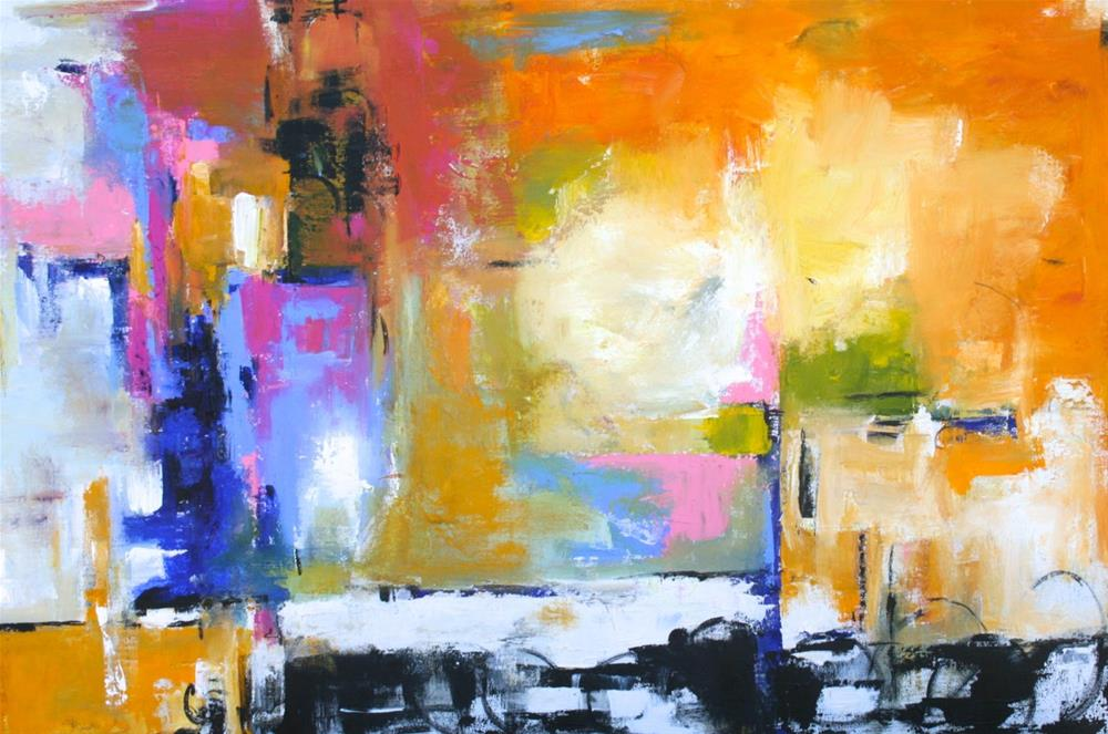 """Fulgent"" original fine art by Elizabeth Chapman"