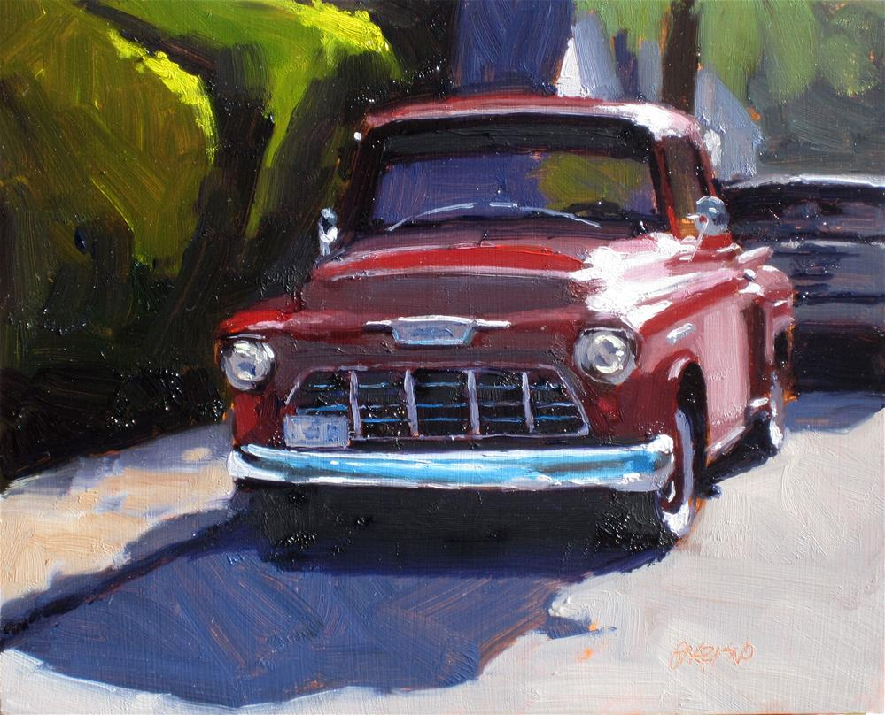 """Ruby Baby"" original fine art by Dan Graziano"