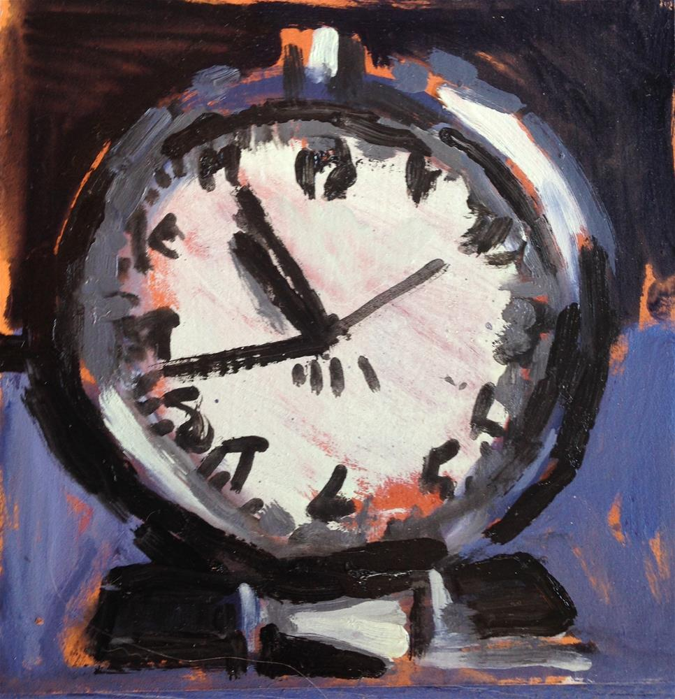 """It's About Time I"" original fine art by Pamela Hoffmeister"