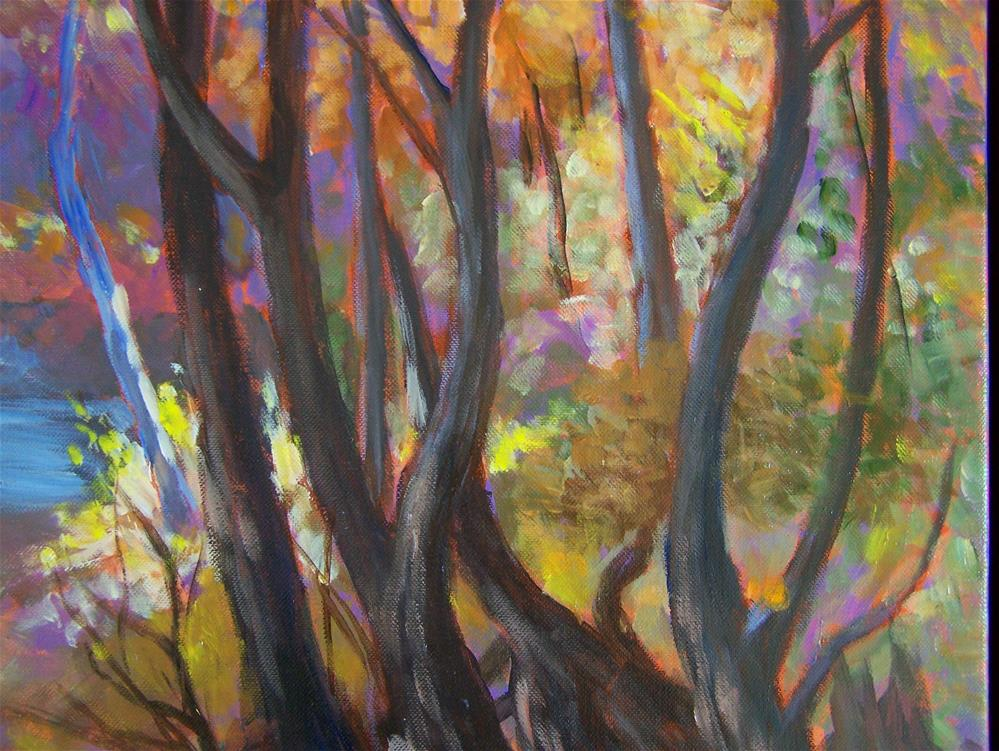 """Morrison's Woods"" original fine art by Joan Reive"