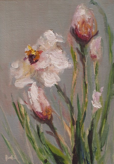 """Daily painting 733 Day Lilies"" original fine art by Heidi Shedlock"