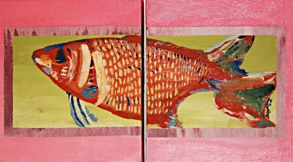 """Big-eyed Squirrelfish"" original fine art by Gary Price"