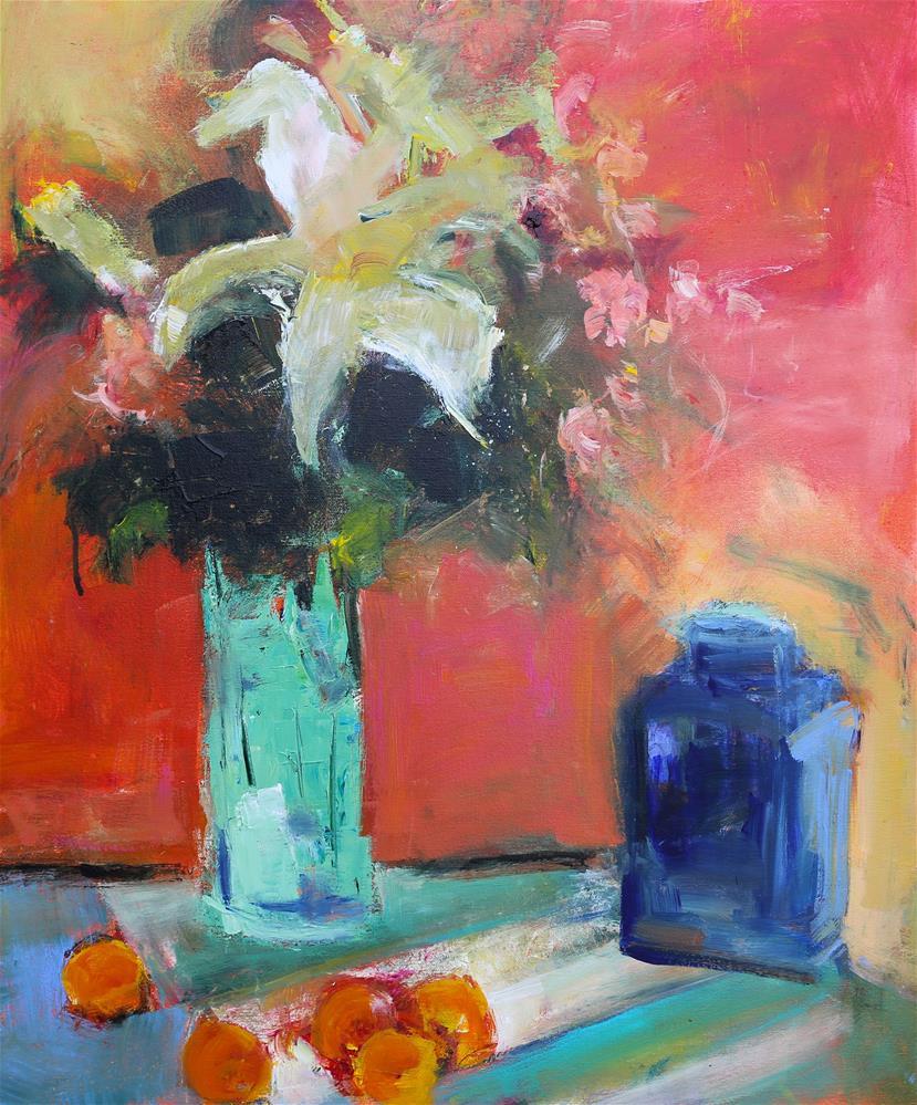 """Lilium"" original fine art by Elizabeth Chapman"