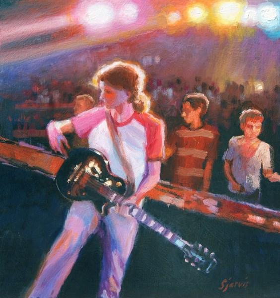 """""""Rock Star"""" original fine art by Susan N Jarvis"""