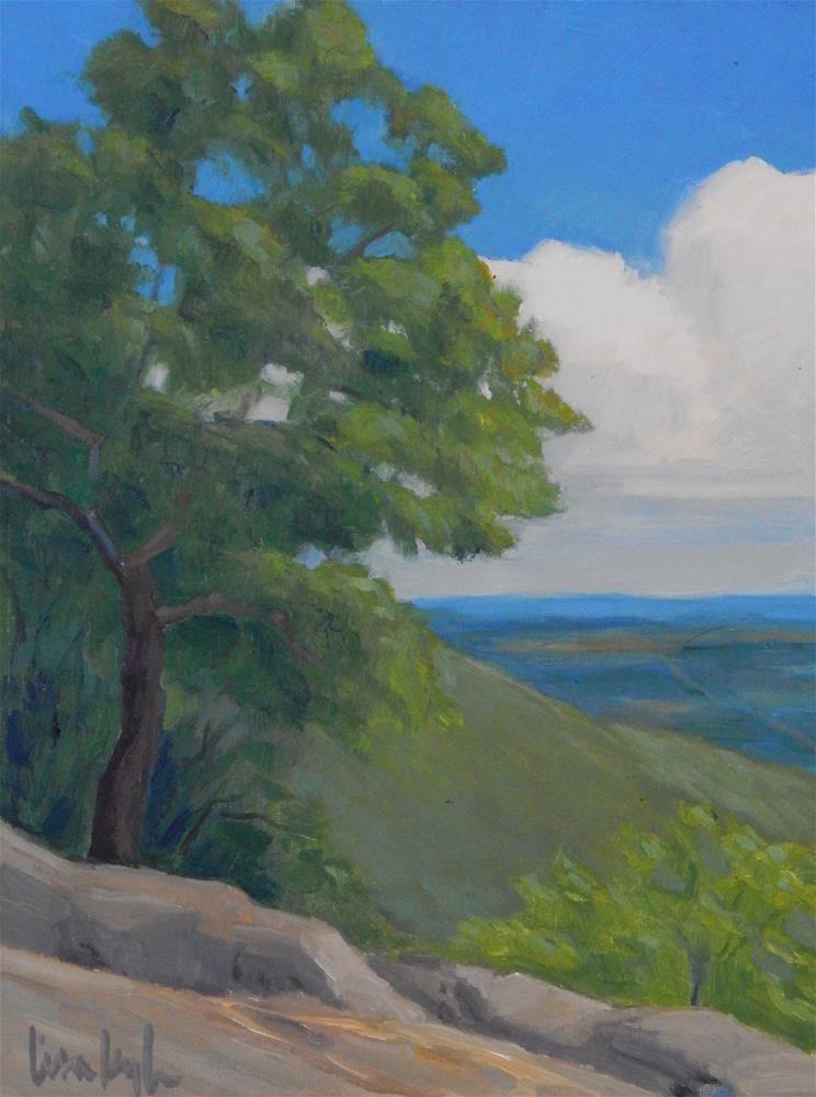 """View form Hog Rock"" original fine art by Lisa Kyle"
