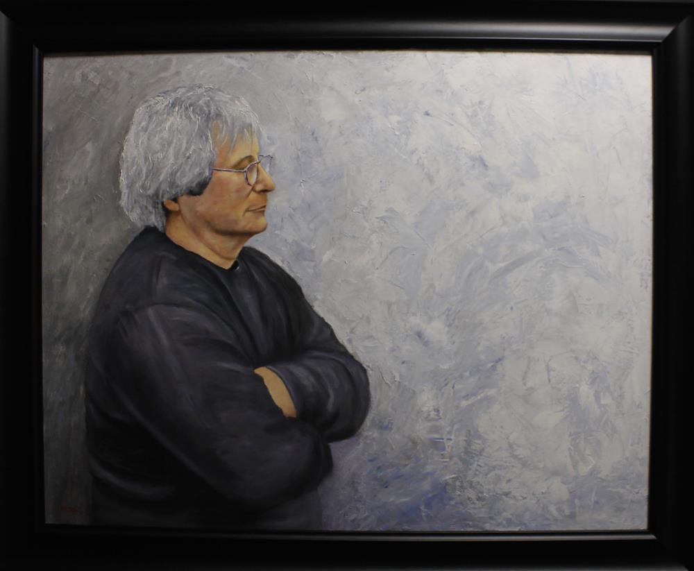 """Portrait of Tom Acosta"" original fine art by Daniel Varney"