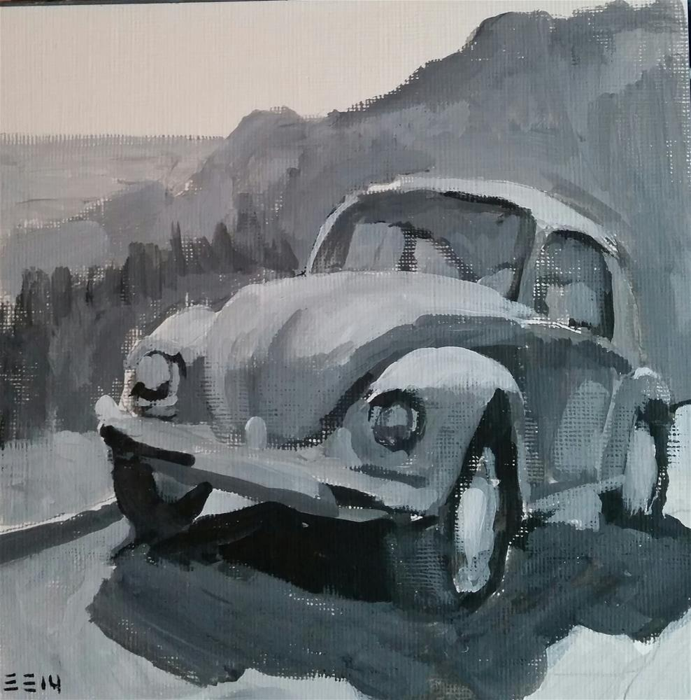 """Mountain Buggie"" original fine art by Liz Maynes"