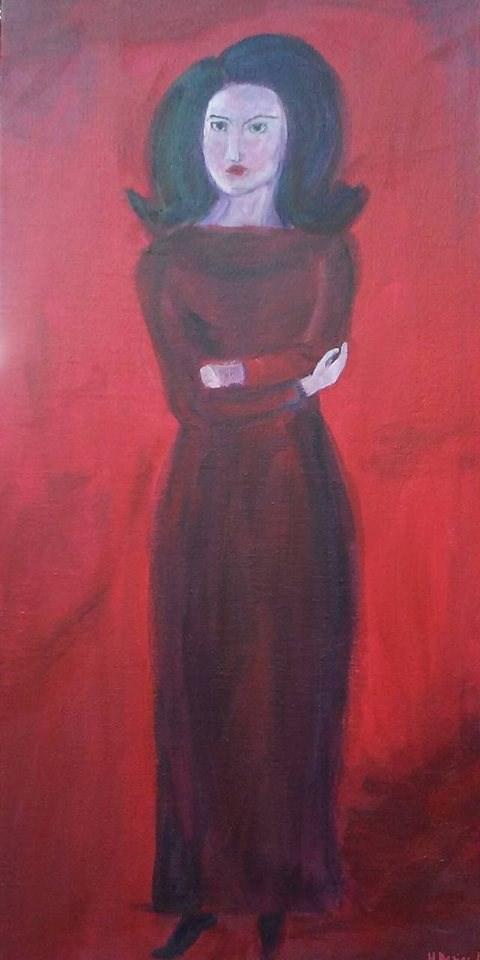 """""""Maria"""" original fine art by Hallie Dozier"""