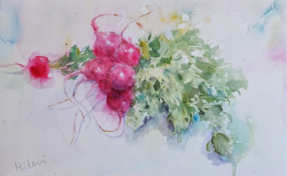 """""""November"""" original fine art by Midori Yoshino"""