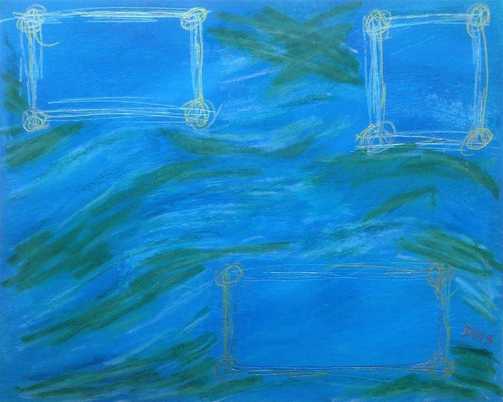 """""""Postcard 6"""" original fine art by Dotty  Seiter"""