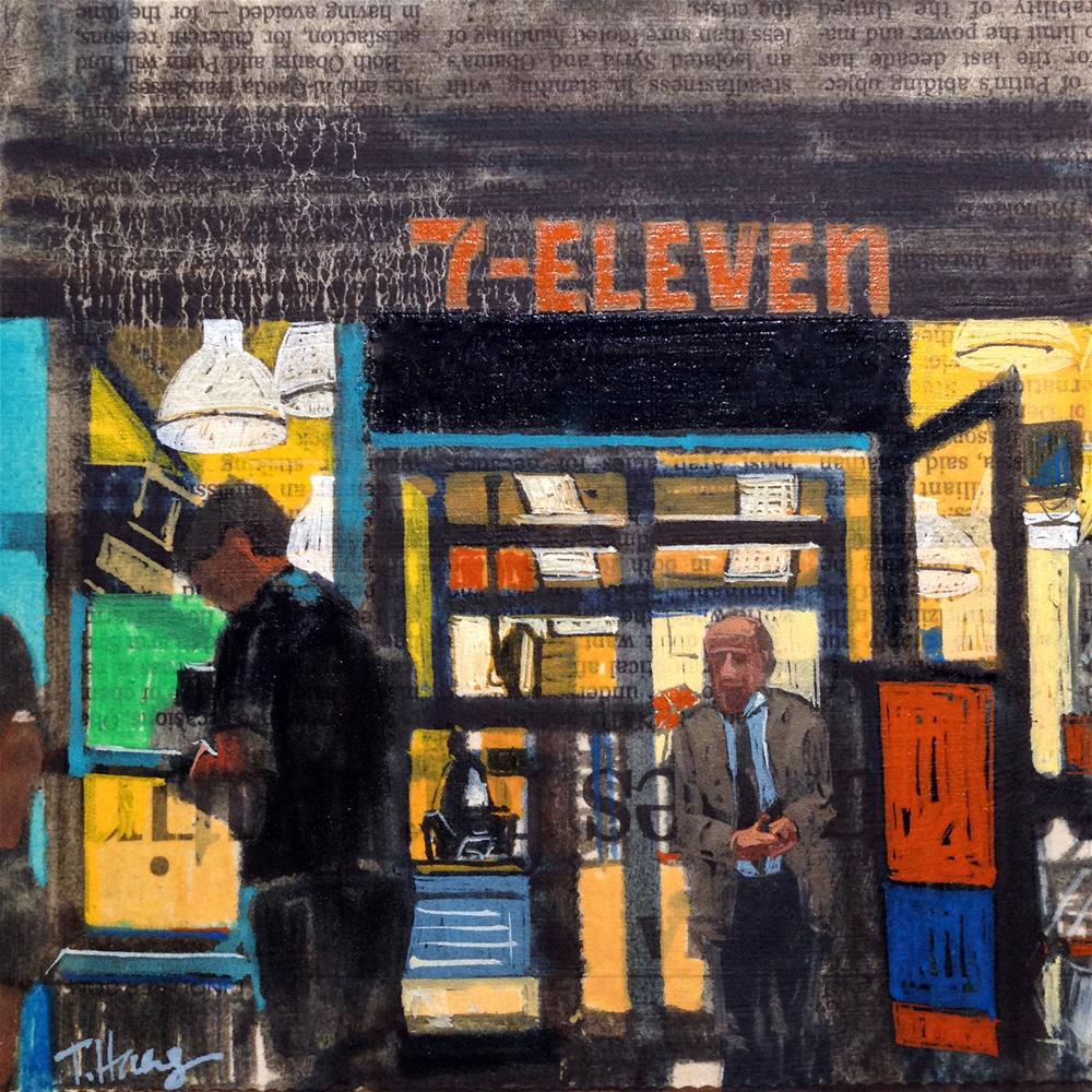 """7-Eleven"" original fine art by Teresa Haag"