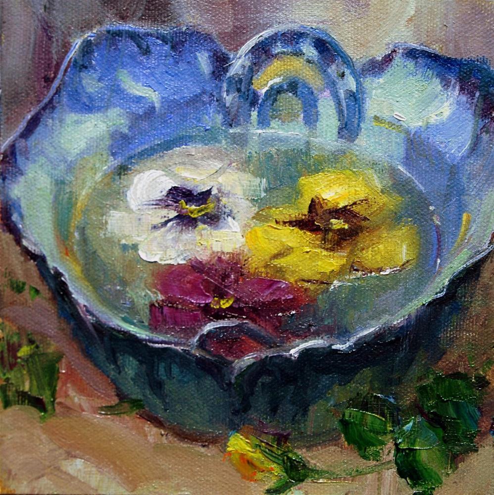 Mother's Pottery #11 original fine art by Julie Ford Oliver