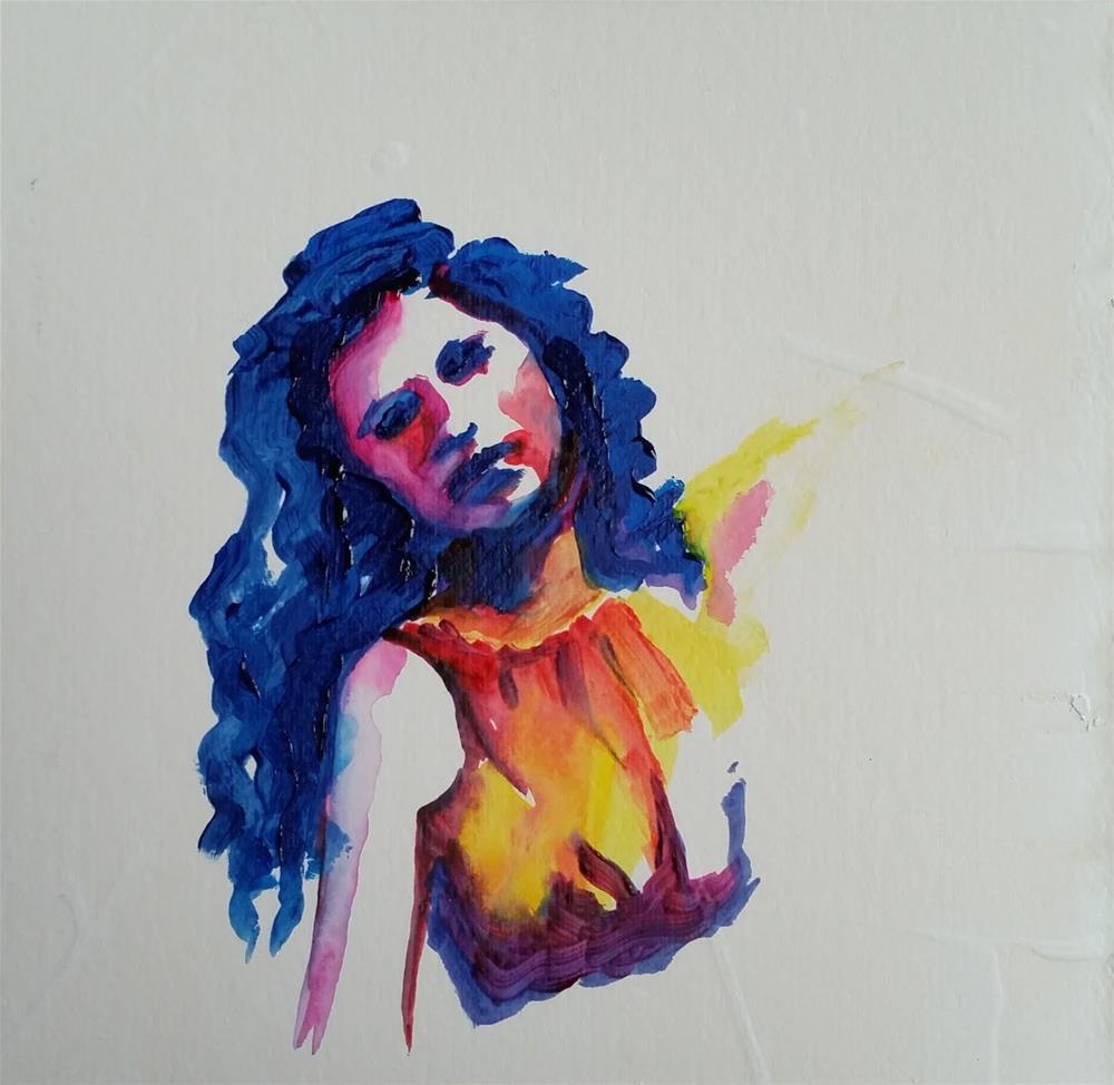 """""""Glenna"""" original fine art by Brenda Stichter"""