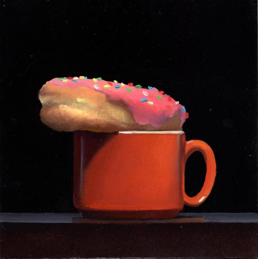 """#298 Doughnut Prep #2 Sprinkles"" original fine art by Brian Burt"
