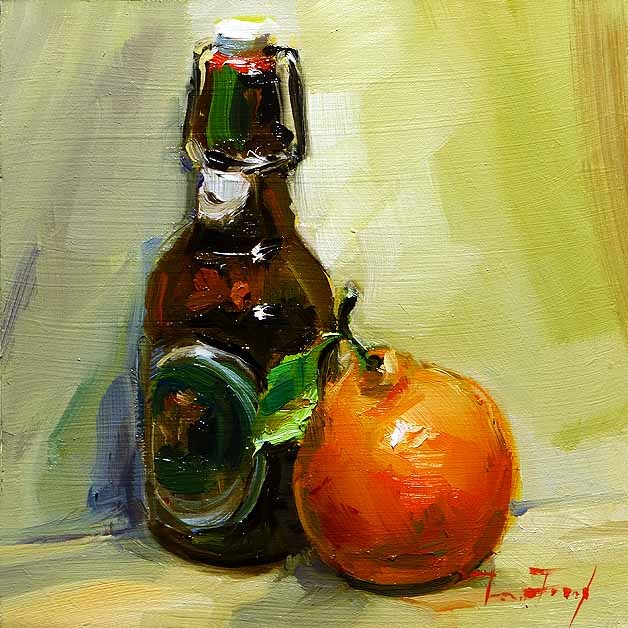 """Still life"" original fine art by Jurij Frey"