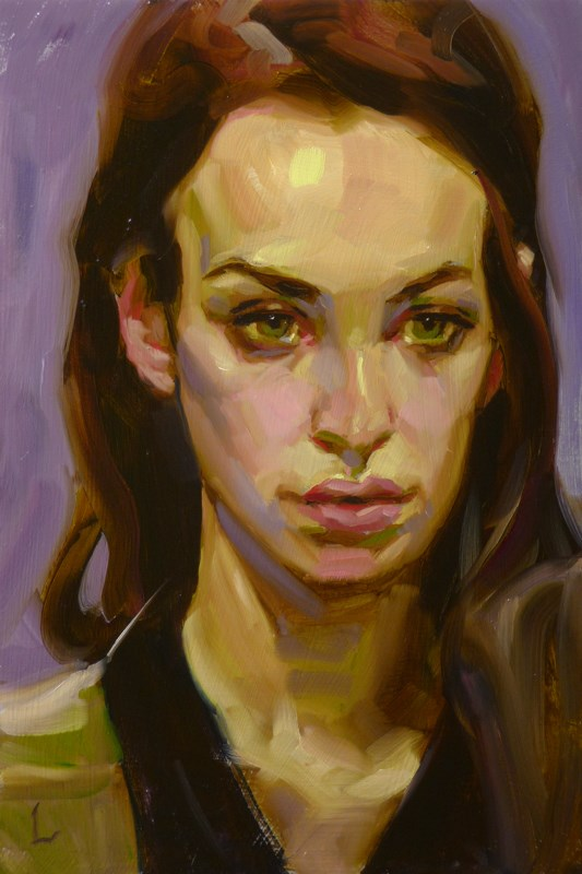 """Stretch"" original fine art by John Larriva"