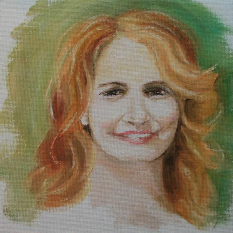 """""""Mimi"""" original fine art by Jean Nelson"""