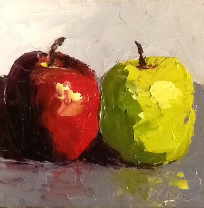"""""""A Pair"""" original fine art by Elaine Ford"""
