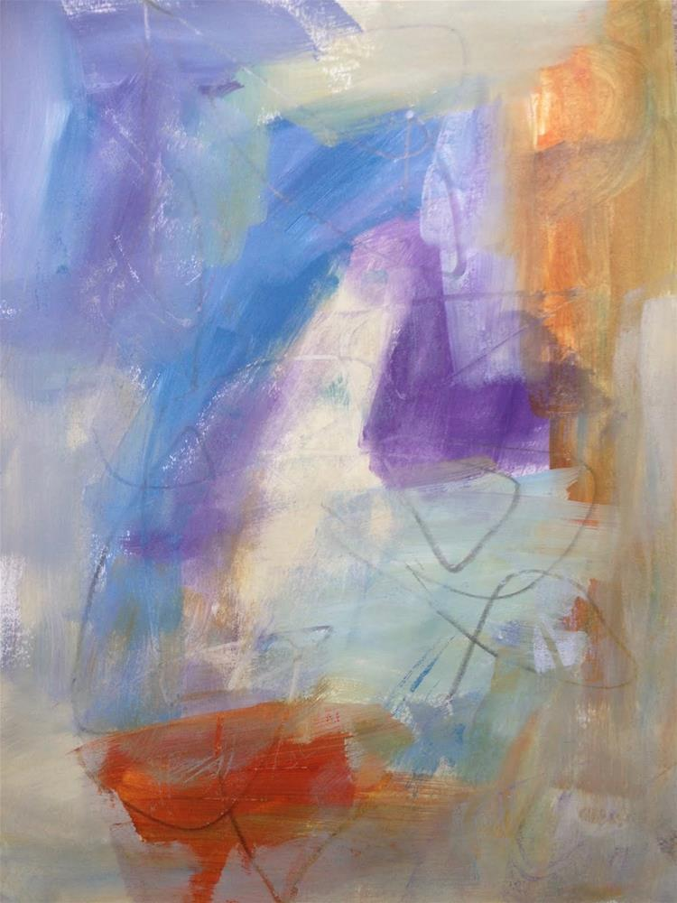 """""""Speed Painting & Painting Over, Day #2"""" original fine art by Dotty  Seiter"""