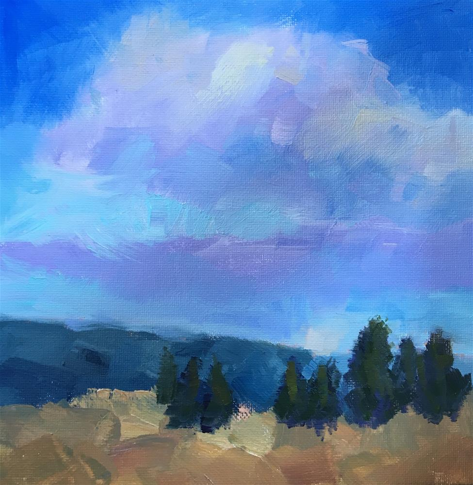 """Glorious Clouds"" original fine art by Victoria  Biedron"