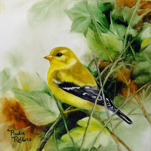 """""""Twigs"""" original fine art by Paulie Rollins"""