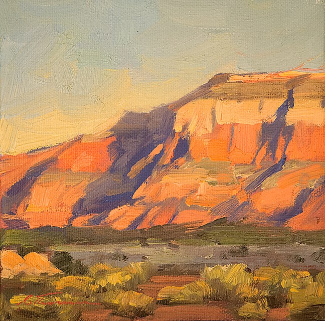 """Navajo Sandstone"" original fine art by Charles Thomas"