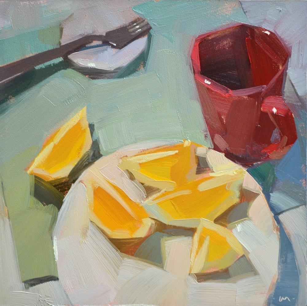 """Just Lemon Please"" original fine art by Carol Marine"