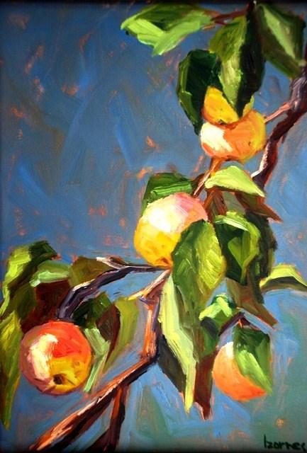 """""""Boggy Creek Farm Fruit Tree"""" original fine art by Liz Zornes"""