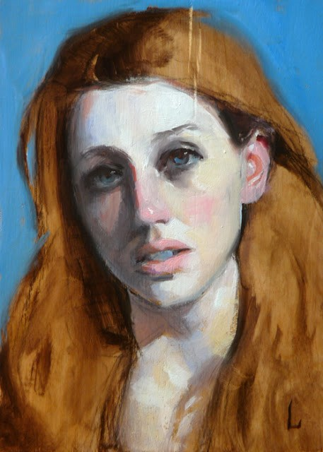 """Breath"" original fine art by John Larriva"