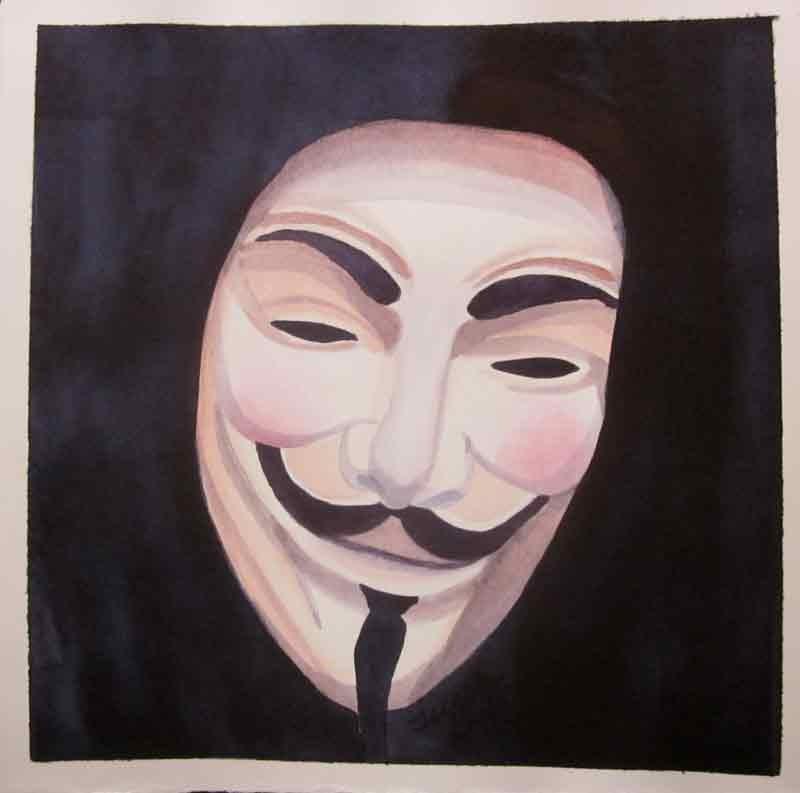 """Vendetta"" original fine art by Teresa Beyer"