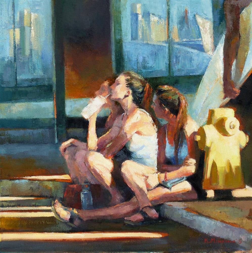 """Roadside Attraction"" original fine art by Katya Minkina"