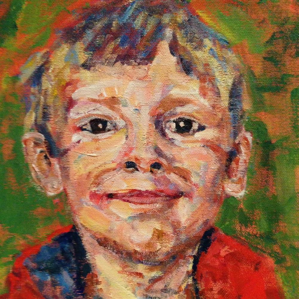 """portrait practice"" original fine art by Shelley Garries"