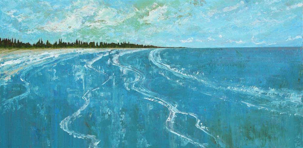 """Sheet Harbour"" original fine art by Sage Mountain"