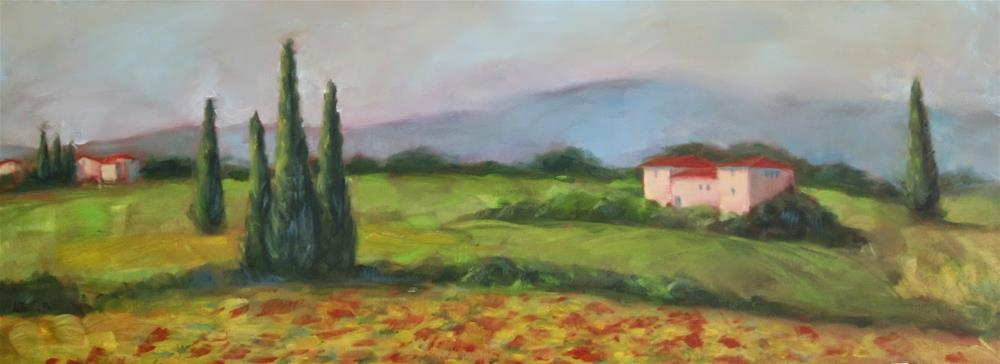 """Tuscany"" original fine art by Sandy Haynes"