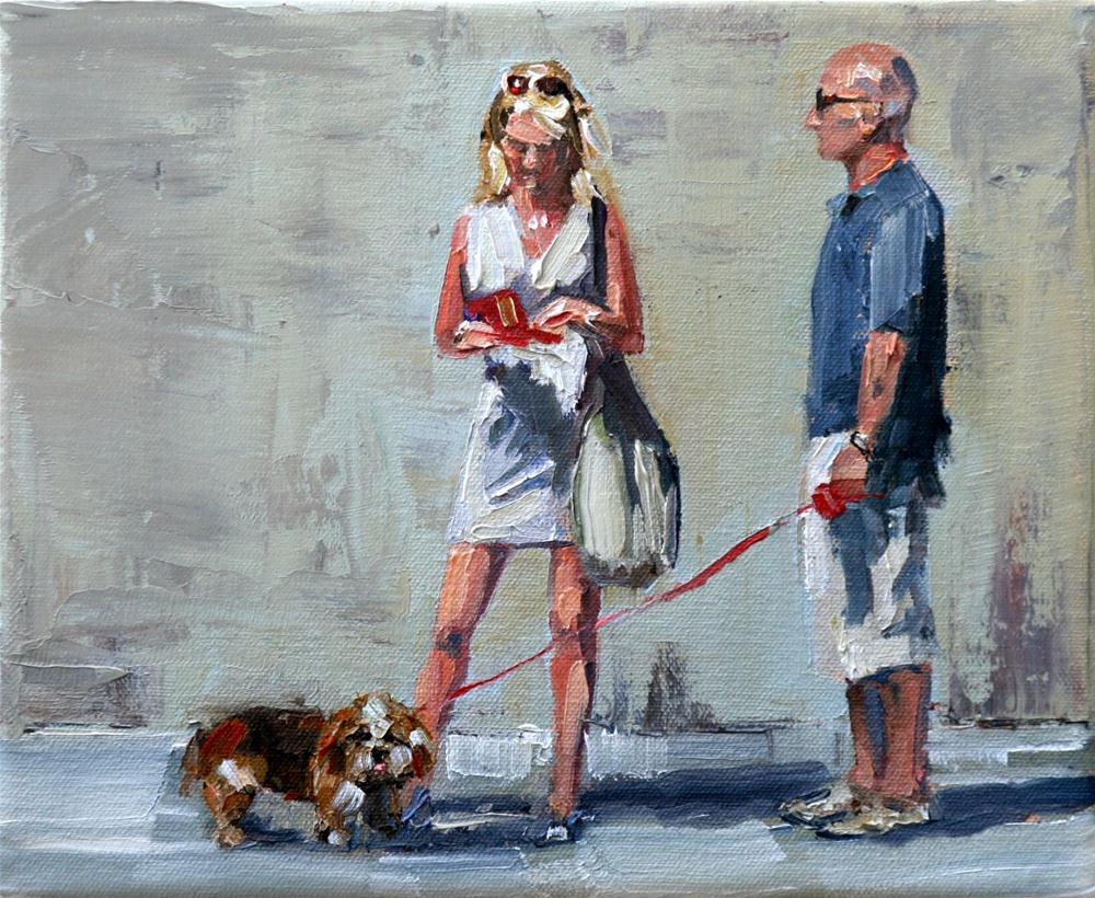 """big bag"" original fine art by Carol Carmichael"
