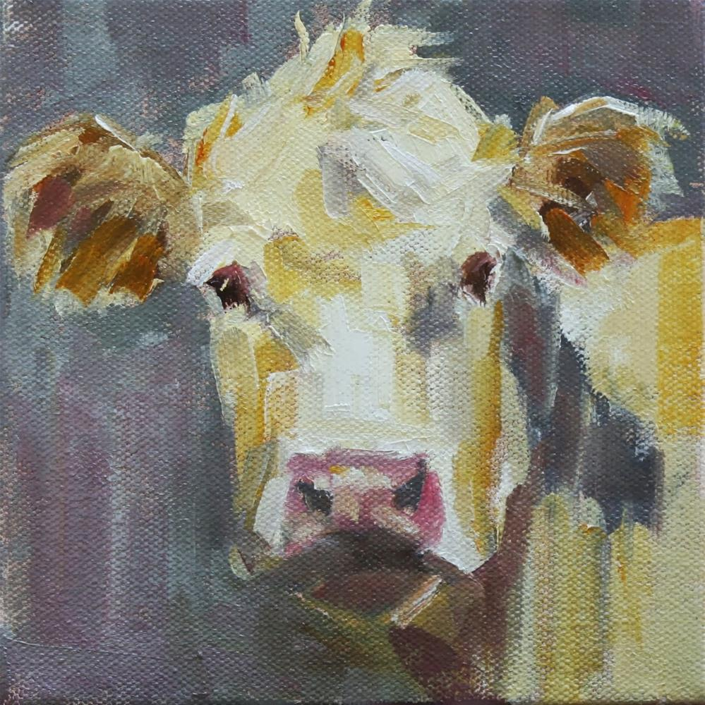 """buff"" original fine art by Carol Carmichael"