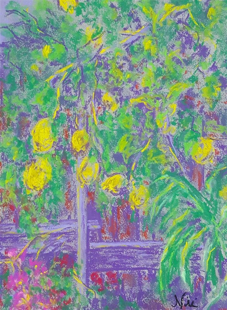 """""""Lemon Corner"""" original fine art by Niki Hilsabeck"""