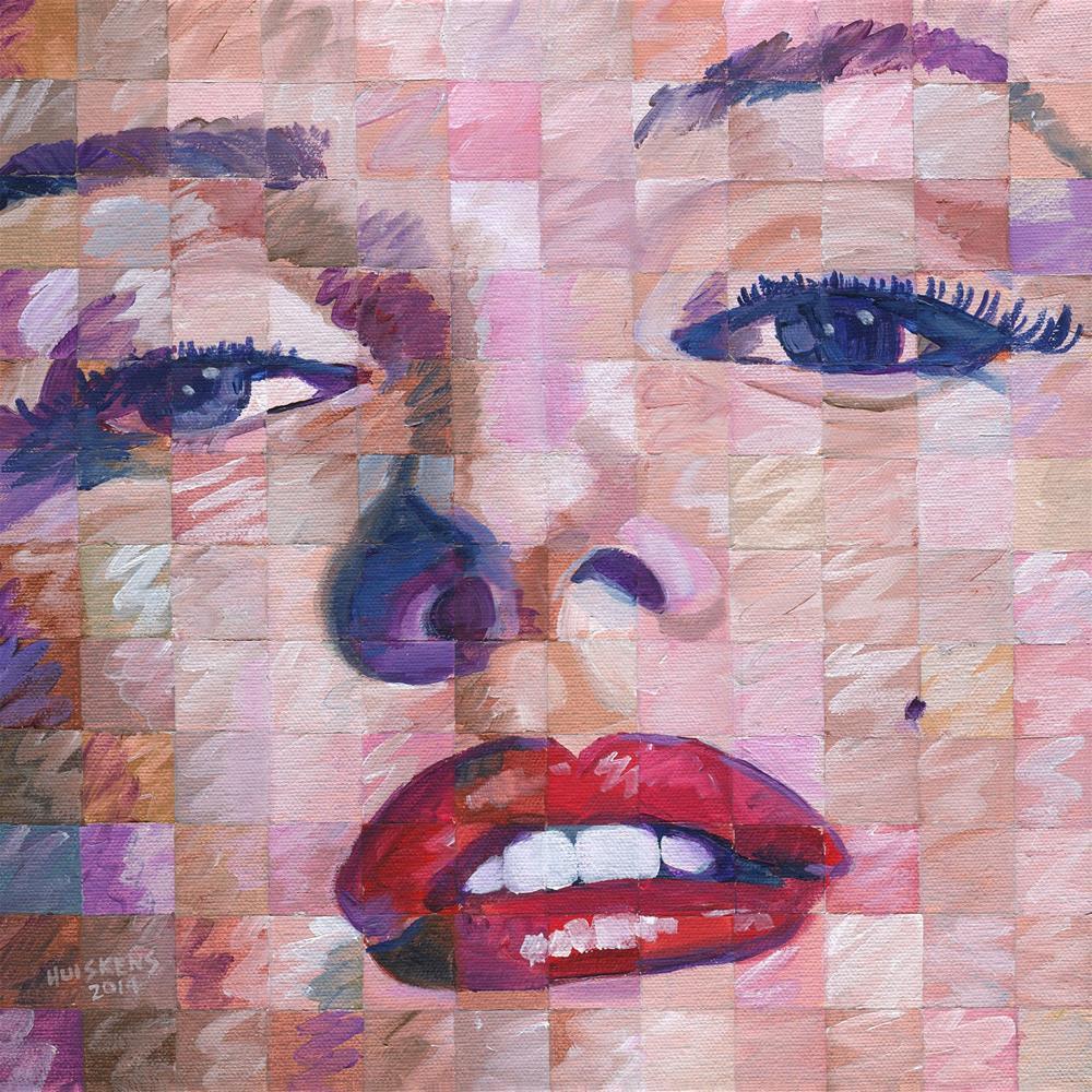 """Marilyn Monroe 2014.02 (Iridescent Study)"" original fine art by Randal Huiskens"