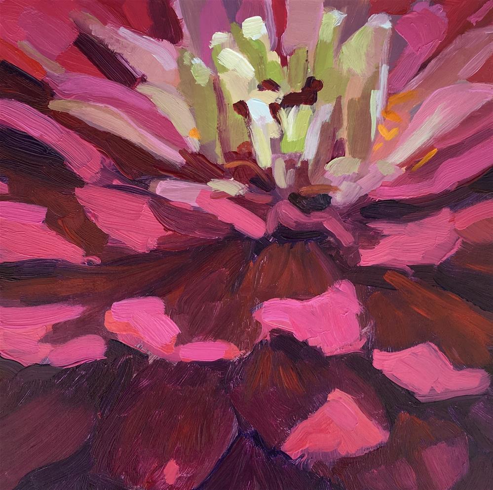 """The Fun Flower"" original fine art by Kaethe Bealer"