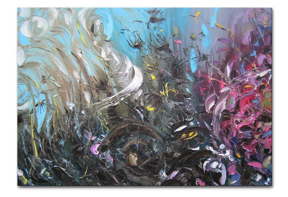 """Underwater meditation"" original fine art by Elena Lunetskaya"