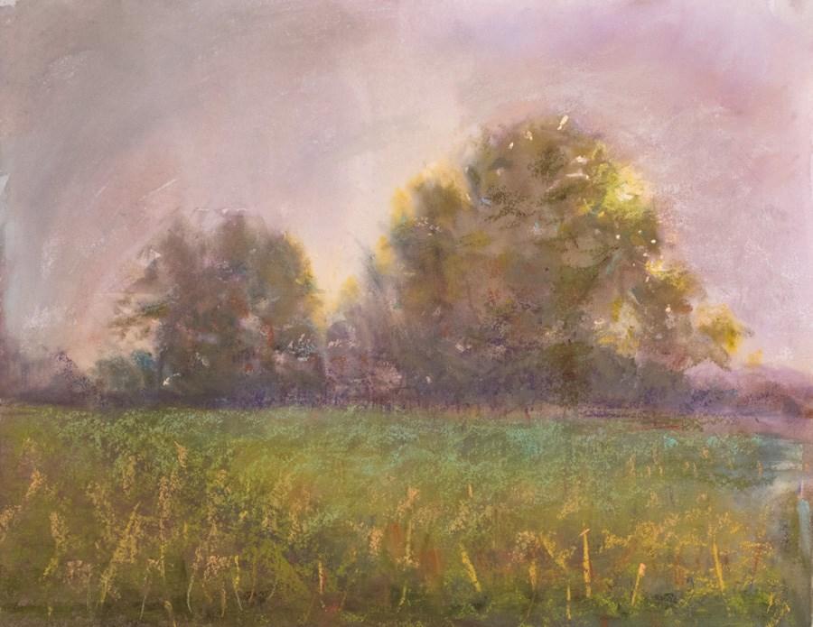 """""""Decision at Dawn"""" original fine art by karen israel"""