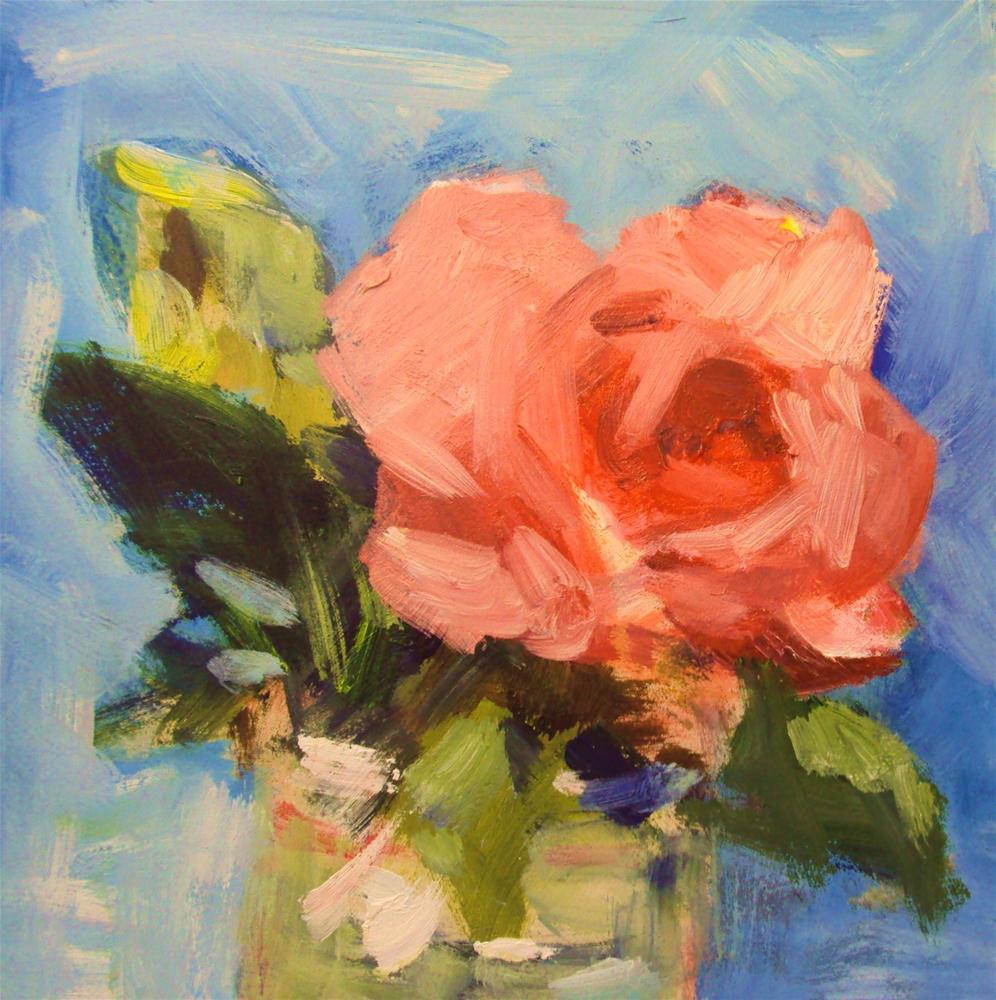"""""""Rose study #7"""" original fine art by Parastoo Ganjei"""