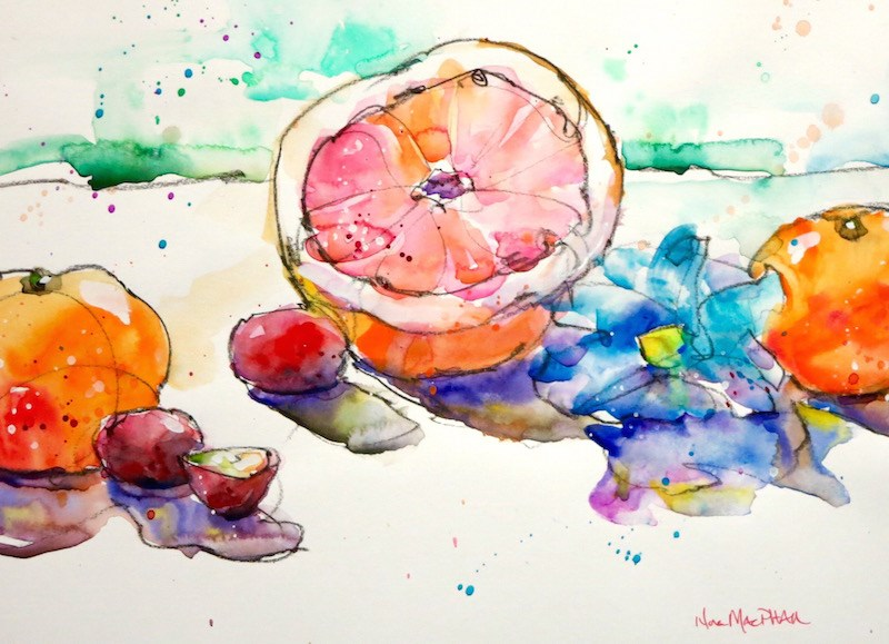 """""""lost and found"""" original fine art by Nora MacPhail"""