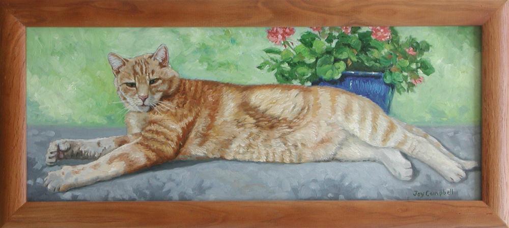 """""""Tom"""" original fine art by Joy Campbell"""
