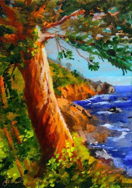 """Life on the Edge"" original fine art by JoAnne Perez Robinson"