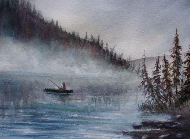 """Mist 2"" original fine art by Jackie Irvine"